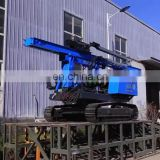 CE Crawler Type Hydraulic Hammer Pile Driver Solar Ramming Machine For Solar Project