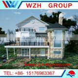 High level villa,modular homes prefab house,luxury steel villa