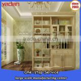 living room furniture cheap partition cabinet, room divider wall cabinet