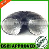 China manufactuer flexible ventilation duct air duct pipe Aluminum Foil Exhaust air Hose