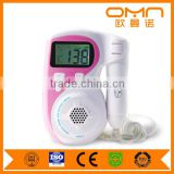 Shenzhen Electronic Medical Equipment Maternity Fetal Doppler Heartbeat Detector Contec Hospital Home Care Linear Probe Devices