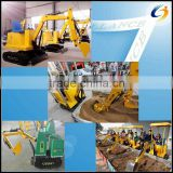 Amusment kids excavator/excavator for children/kids electric toys excavator for children