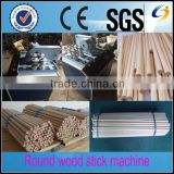 High speed wood processing machine/round wood making machine