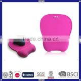 made in China good quality custom design colorful OEM silicon gel wrist support mouse pad