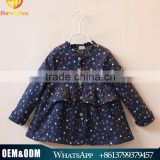 Girls Full Print Stars Kids Coats Children's Coat Spring Autumn Baby Coat Girls New Fashion Child Outwear