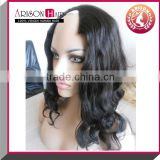 u part wigs free parting fashion style wave human 100% Brazilian hair u part wigs for black women