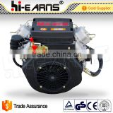 2V86F 16HP air cooled 2 cylinder diesel engine price                                                                         Quality Choice