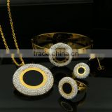 stylish gold jewelry set luxury gold jewelry set for young                                                                         Quality Choice