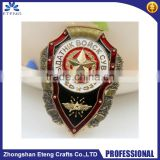 New arrival promotion fashion Brooch Pin Badges with custom made logo