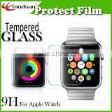 For Apple Watch High Definition Screen Protector,9H Premium For apple watch Tempered Glass screen protector