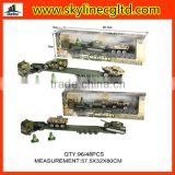Promotional kids army toys cheap diecast military toys play set