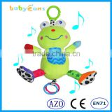 Babyfans Comfortable Fabrics And New Design Musical Plush Toys Baby