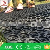 Provide satety traction top value shock proof gym rubber bar mat
