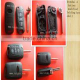 Tongda high quality 3 Button Flip Remote Key Shell for hyundai key