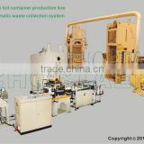 65T aluminium foil container production line with full-automatic waste collection system