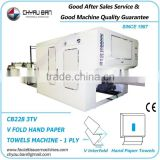 V Interfold Paper Hand Towels Product Making Machinery