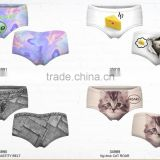 3D print 10pcs selling ready Latest wholesale tight sexy summer new style fashion women underpants for fashion girls wear