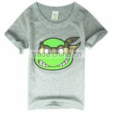 Fashion 2014 Boys Teenage Mutant Ninja Turtles T Shirt Girls Top T-Shirt For Kids Baby Summer Cartoon Children T Shirt Clothing
