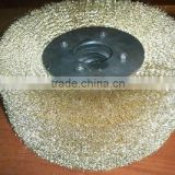 Good quality Steel Wire Wheel Brush for peeling paint