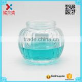 pumpkin shaped special design 250ml glass food jar                                                                                                         Supplier's Choice
