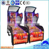 Superwing redemption games Coin operated indoor amusement teen arcade basketball game machine