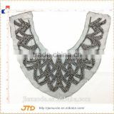 Wholesale Fancy Crystal Dress Beaded Neckline Appliques Trims For Garments