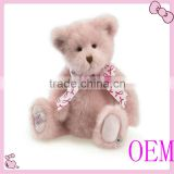Lovely stuffed animal teddy bear toy factory