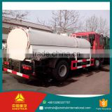 SINOTRUK HOWO water truck 196KW Max.Power Air brake Brake system 10000l water sparying vehicle