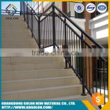 Decorative indoor fencing wrought iron stair handrail wrought iron staircase