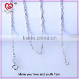 2015 China factory wholesale 18 inch stainless steel chain fashion stainless steel chain