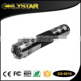 Onlystar GS-9010 1 watt rechargeable 12 volt car charging LED car torch rechargeable flashlight car torch