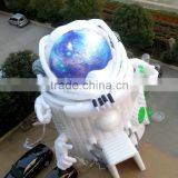 Special Robot Space suit inflatable tent for theme park kids