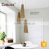 new products Natura home decor pendant lighting Environment white/brown/black rattan pendant lamp For Hotel Project