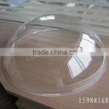 "3mm uniform wall thickness 21"" UV resistant clear Polycarbonate domes by injection moulding method"