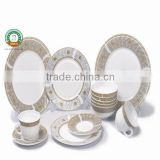 47pcs Dinner Set Opal Glassware Heat Resistant Microwave Safe