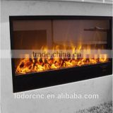LED electric fireplace with flame effect