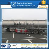 High efficiency 12 wheels aluminium alloy fuel oil tanker truck trailer supplier in China