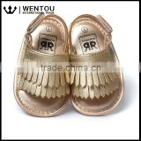 Baby Soft Sole Moccasins Fringe Sandals