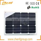 High Quality and Supper Light Sunpower Semi Flexible Solar Panel 120w 200w 300w for Boats,RV