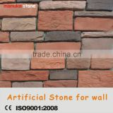 Plastic model cement material light weight manufactured decorative stone for wall cladding