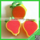 Wholesale Cleaning sponge/kitchen absorbent polyester sponge