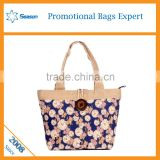 Summer printed promotional canvas tote bags bulk canvas bag wholesale                                                                                                         Supplier's Choice