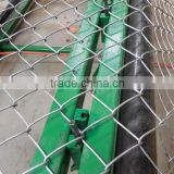 automatic industrial Diamond wire mesh net making machinary/chain link fence making machine with CE