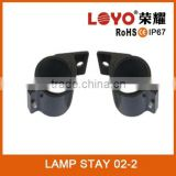 New update technology for wrangle bracket for front bumper lamp holder 2.5 inch 65mm lamp stay