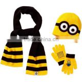 Boys' Hat, Glove and Scarf 3pc Set