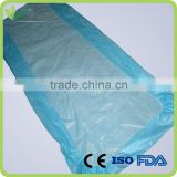 Disposable non woven surgical bed sheet, with elastic all around, mattress cover,massage bed cover