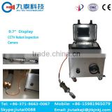 GT-102B self level& Locator duct cleaning robot|pipeline inspection robot