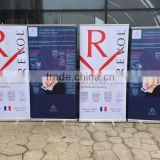 Outdoor display and promotion trade show roller Banners roll up banners pop up banner