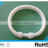 High quality home textile decorative plastic curtain accessories ring,plastic curtain accessories