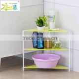 Modern easy to move simple plastic bathroom cabinet